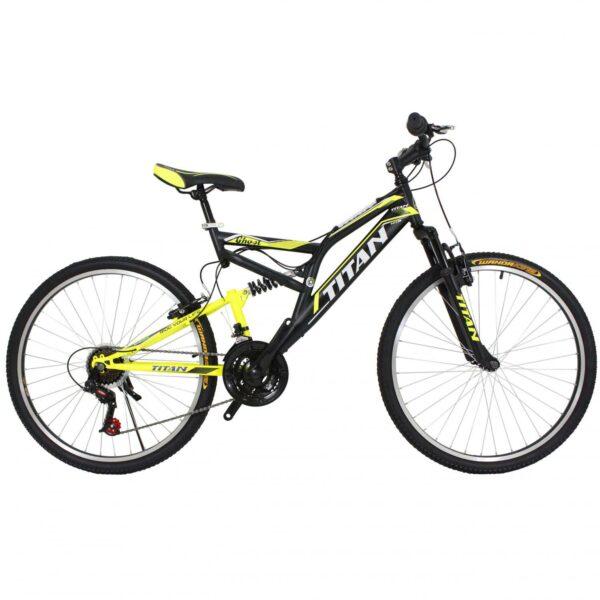 Фото Горный Велосипед Titan Ghost черно-зелено-белый