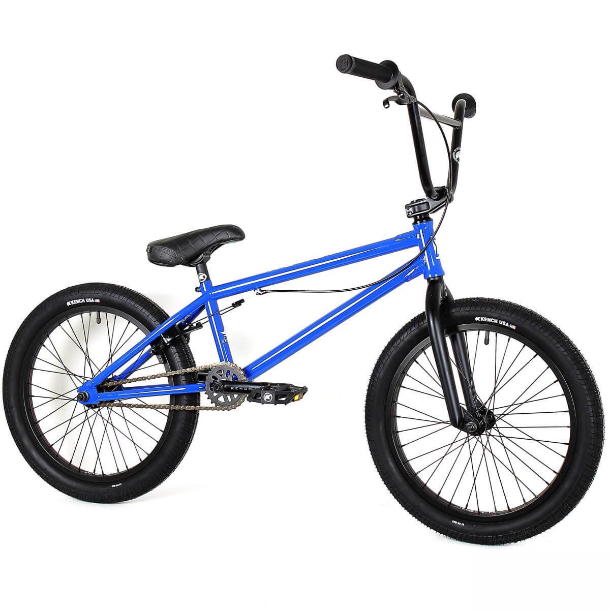 Фото Велосипед BMX 20″ KENCH 21″ Hi-Ten (син)
