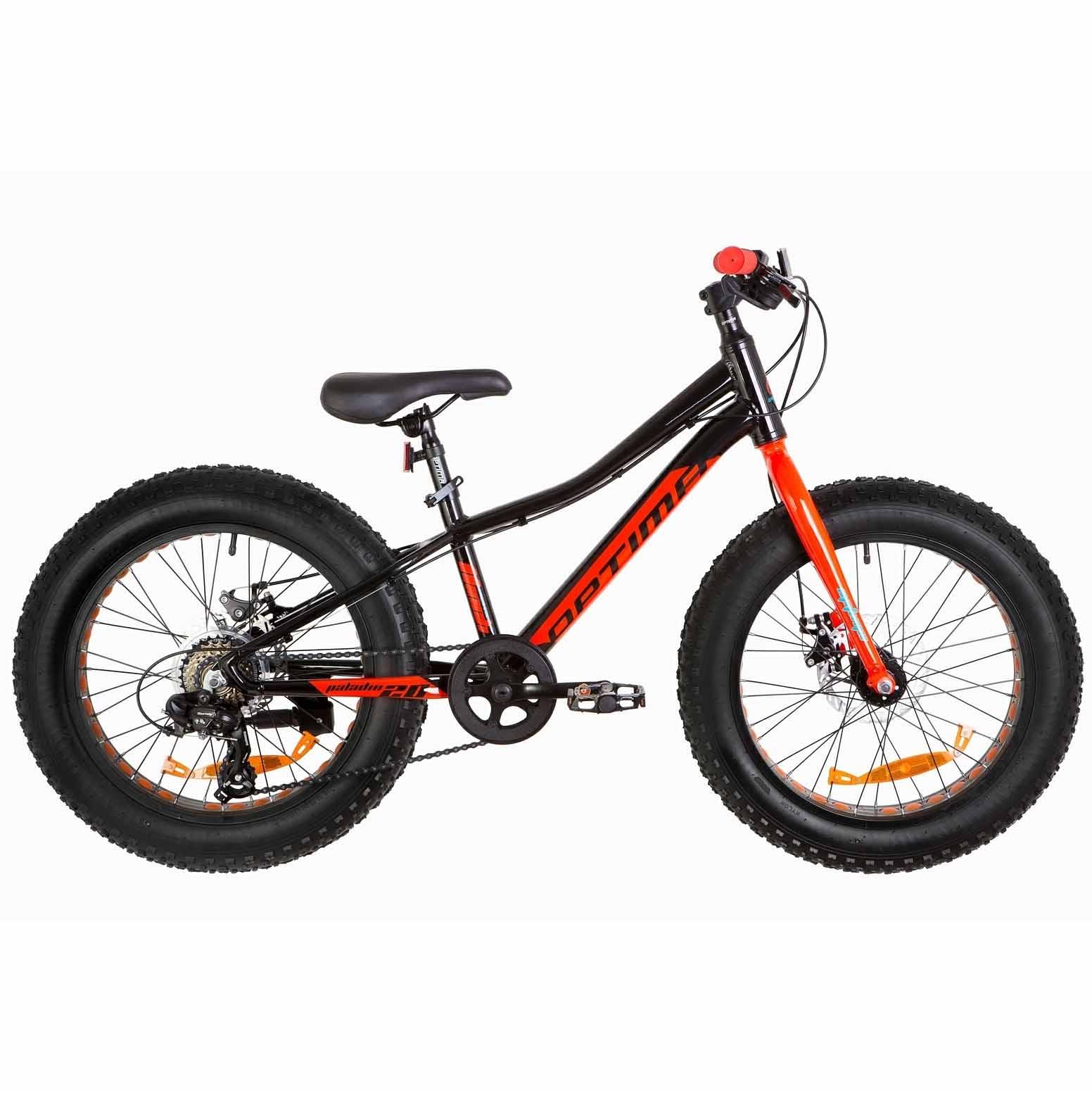 Фото Велосипед 20 Optimabikes PALADIN DD   черно-красный 2019