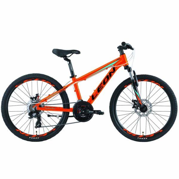 Фото Горный Детский Велосипед 24 Leon JUNIOR DD  оранжевый    2019
