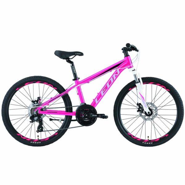 Фото Горный Детский Велосипед 24 Leon JUNIOR DD  розовый   2019