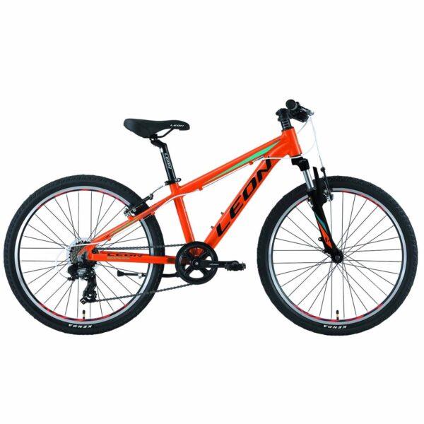 Фото Горный Детский Велосипед 24 Leon JUNIOR  оранжевый    2019