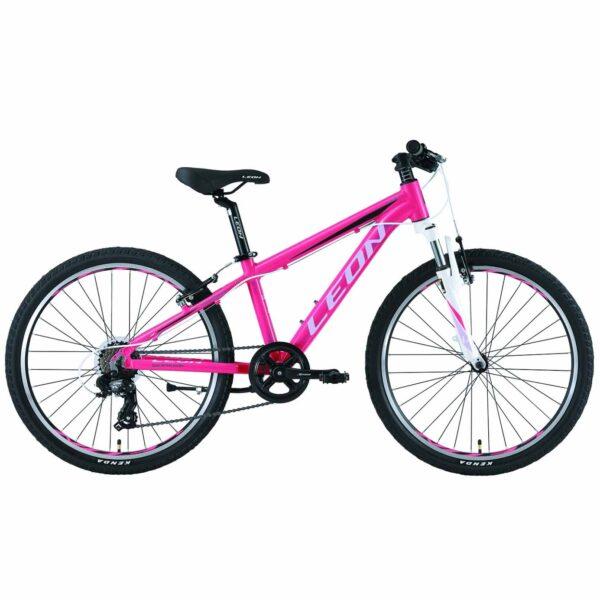 Фото Горный Детский Велосипед 24 Leon JUNIOR  розовый   2019