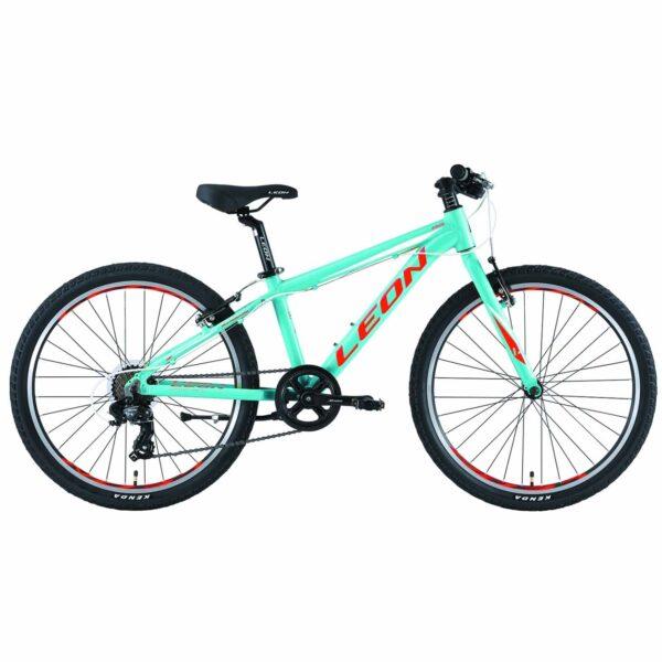 Фото Горный Детский Велосипед 24 Leon JUNIOR regid  бирюзовый   2019