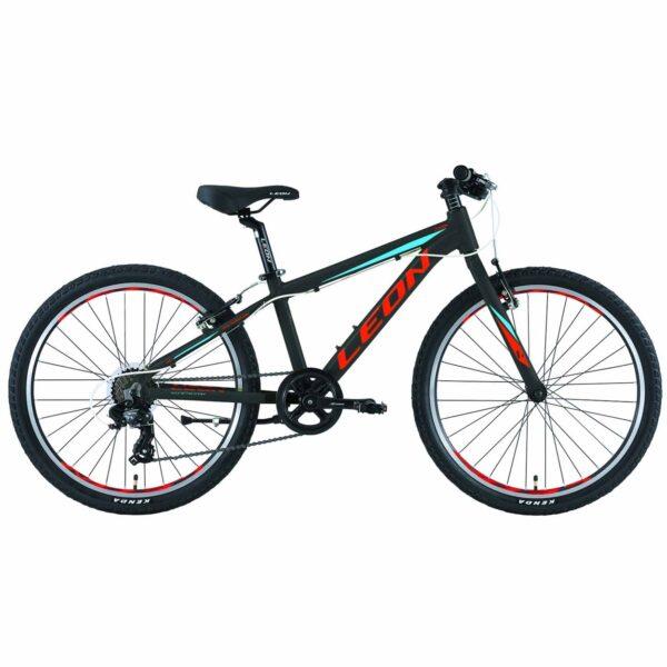 Фото Горный Детский Велосипед 24 Leon JUNIOR regid  черно-красный с синим   2019