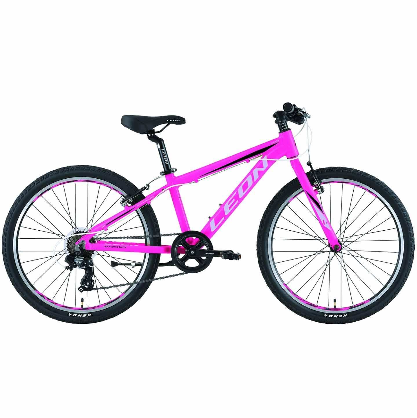 Фото Горный Детский Велосипед 24 Leon JUNIOR regid  розовый   2019