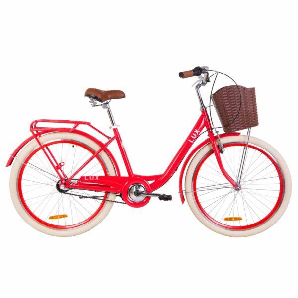 Фото Велосипед 26 Dorozhnik LUX   красный   2019