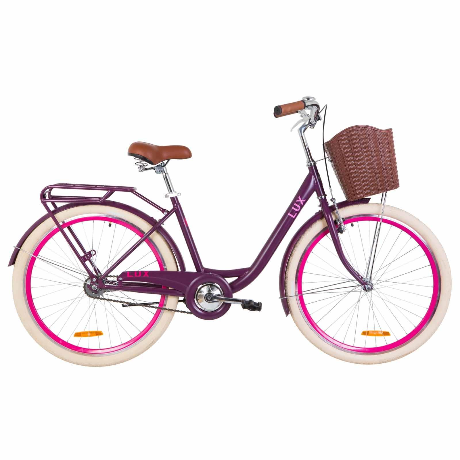 Фото Велосипед 26 Dorozhnik LUX сливовый 2019