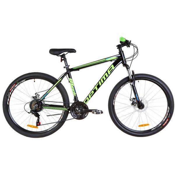Фото Велосипед 26 Optimabikes MOTION DD черно-салатно-синий   2019