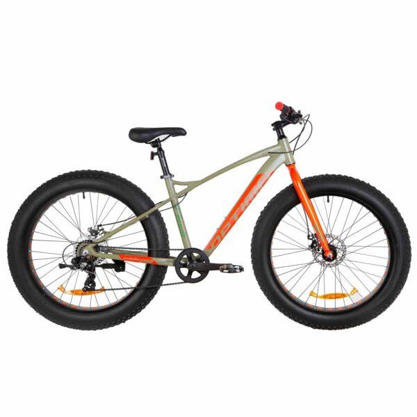 Фото Велосипед 26 Optimabikes PALADIN DD   хаки с красным 2019