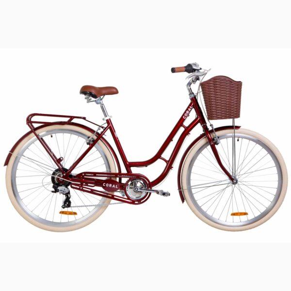 Фото Велосипед 28 Dorozhnik CORAL   рубиновый   2019