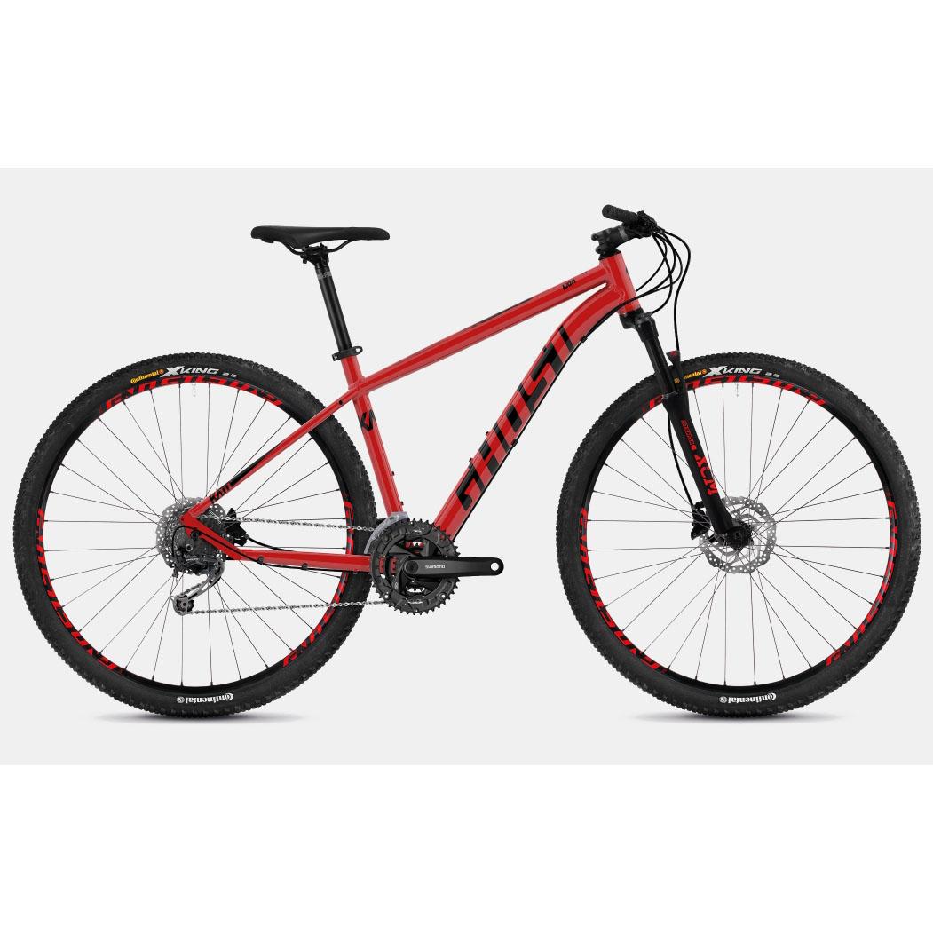 Фото Велосипед Ghost Kato 4.9 29″ , рама M, красно-черный, 2019
