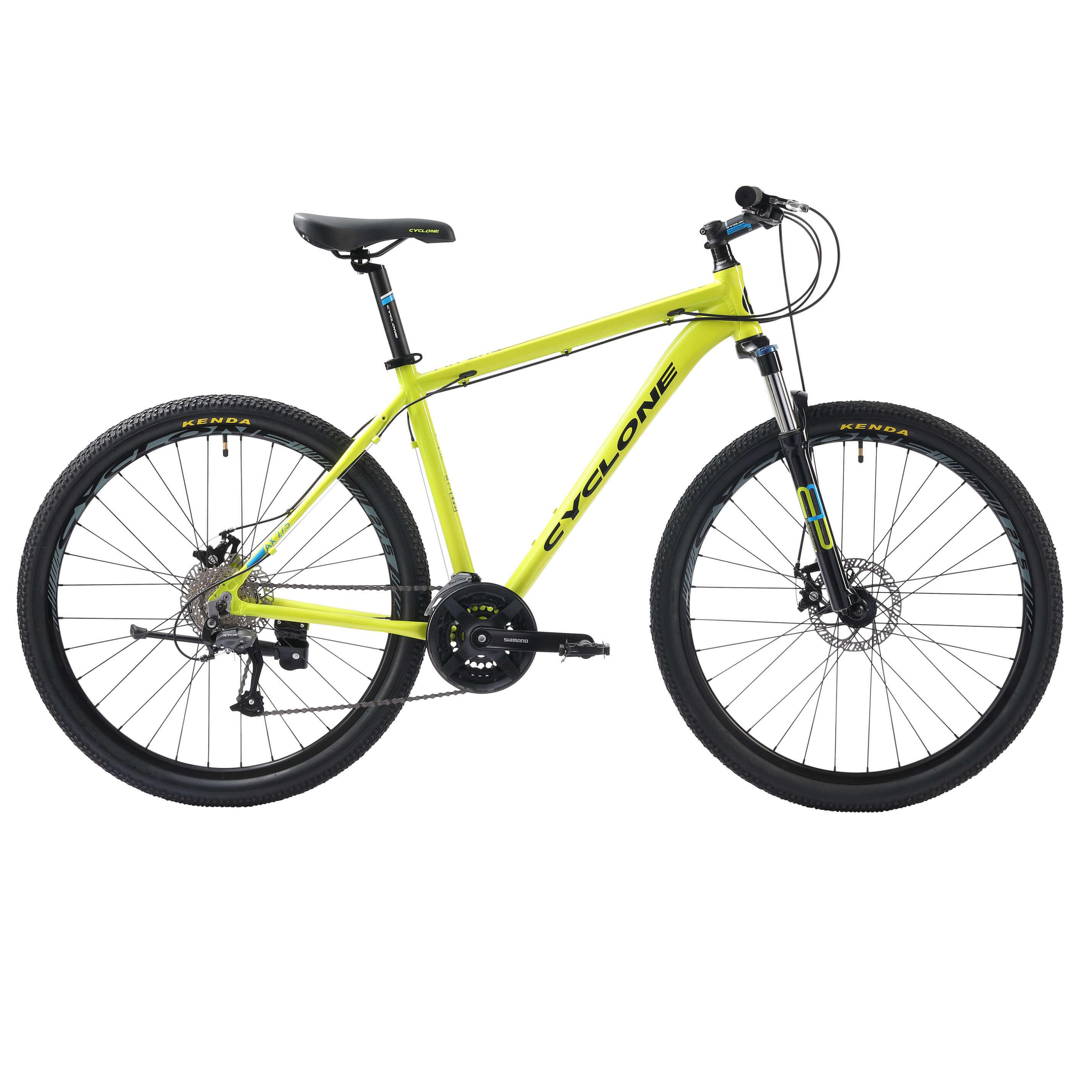 Фото Велосипед Cyclone 27,5″ AX  17″ (зеленый)