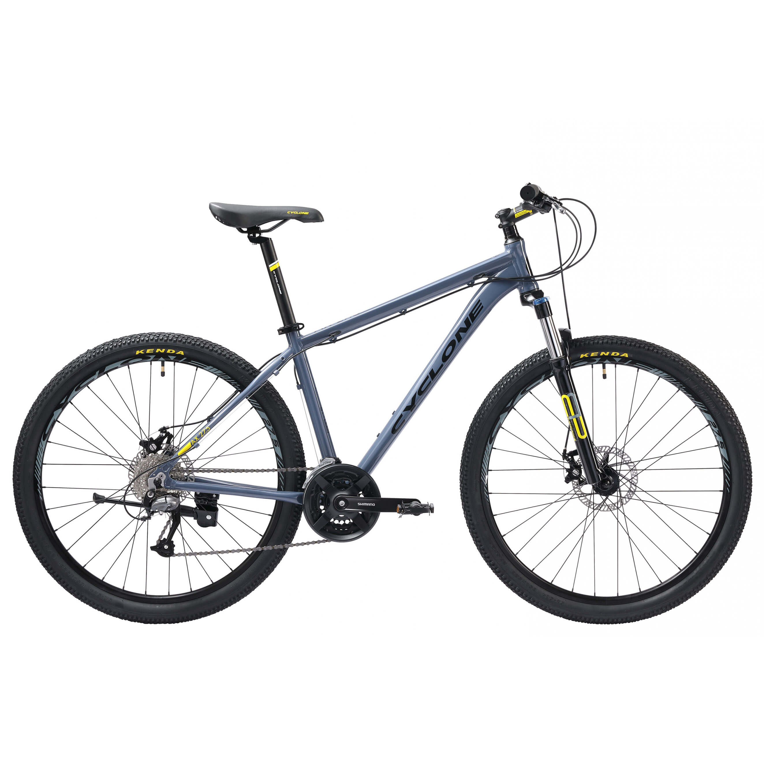 Фото Велосипед Cyclone 27,5″ AX  17″ (серый)