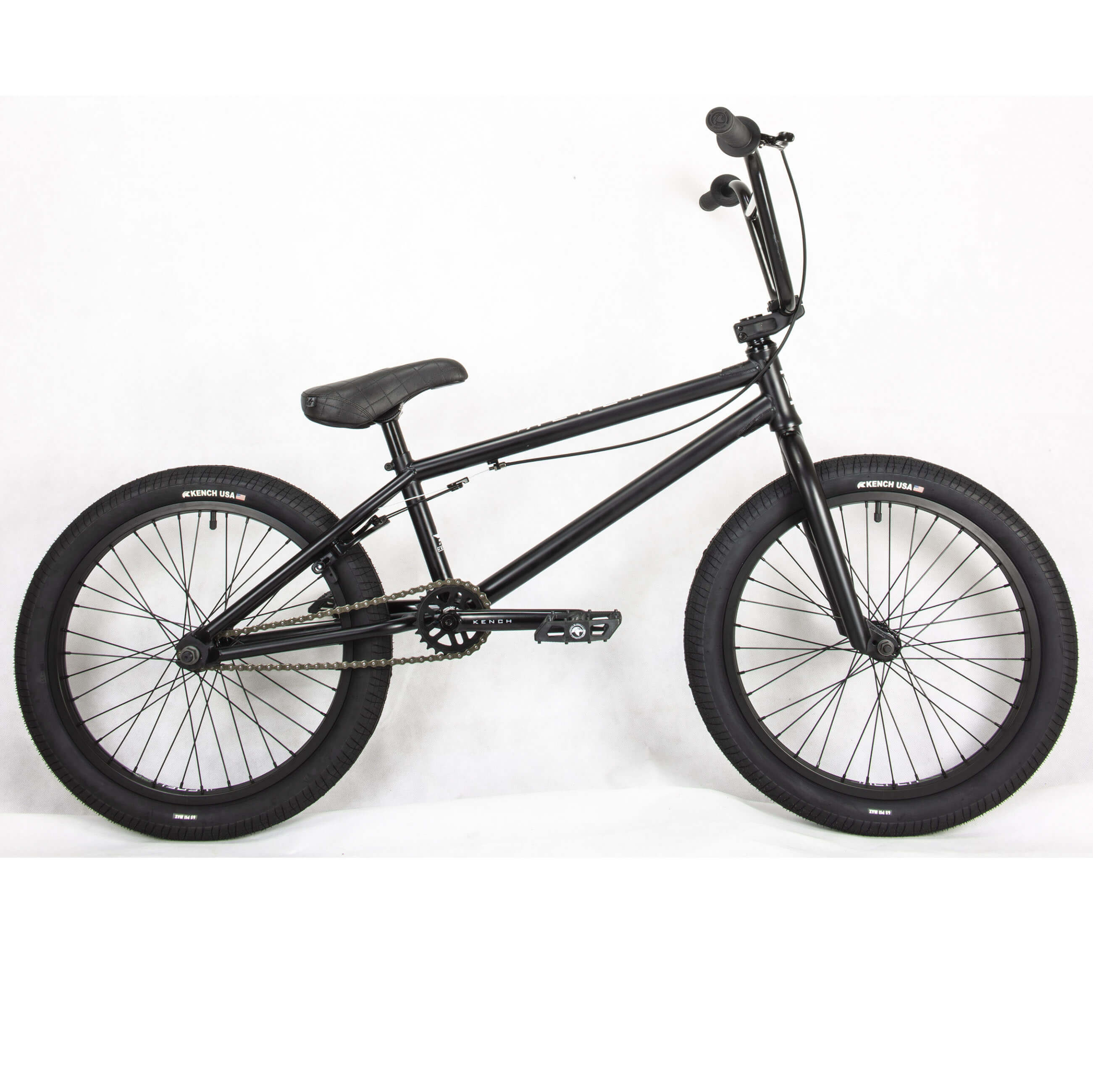 Фото Велосипед BMX 20″ KENCH 20,75″ Hi-Ten (черн-мат)
