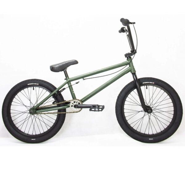 "Фото Велосипед BMX 20"" KENCH 21"" Hi-Ten (хаки)"
