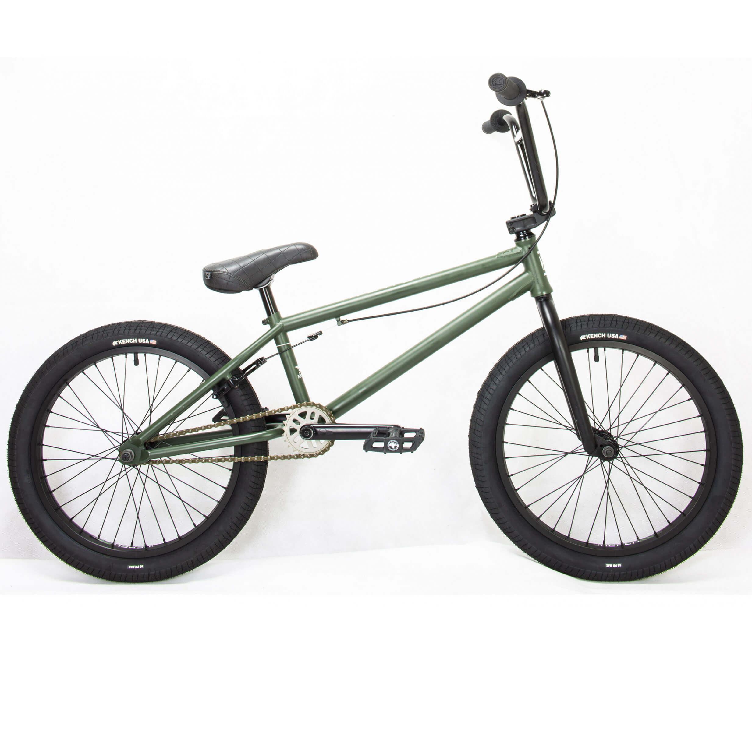 Фото Велосипед BMX 20″ KENCH 20,75″ Hi-Ten (хаки)