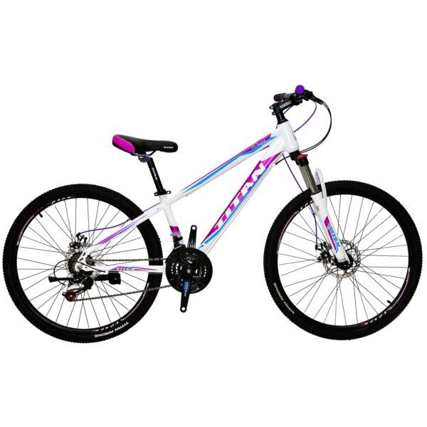 """Фото Велосипед Titan 26"""" Calypso Рама-13"""" white-сrimson-blue, шт"""