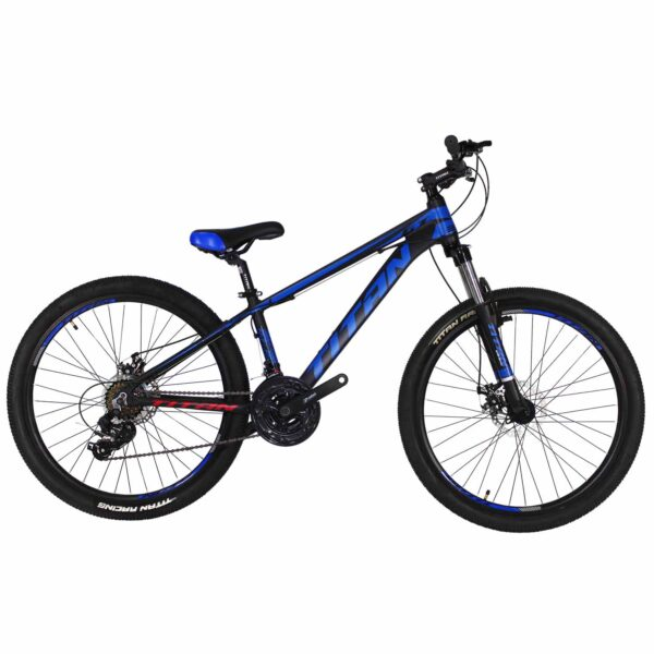 Фото Велосипед Titan GT 26 черно-синий