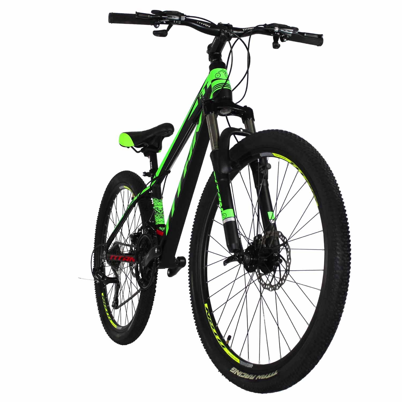 Фото Велосипед Titan GT 26 черно-зеленый