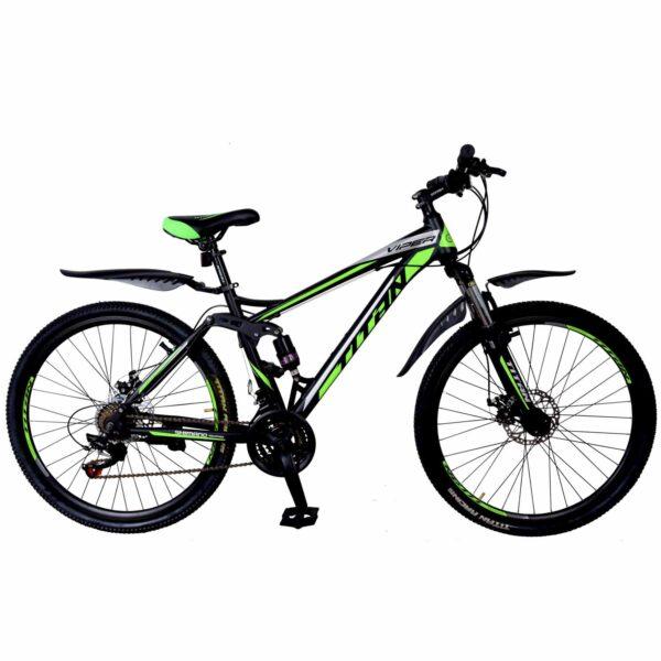 Фото Велосипед Titan Viper 29 черно-зеленый