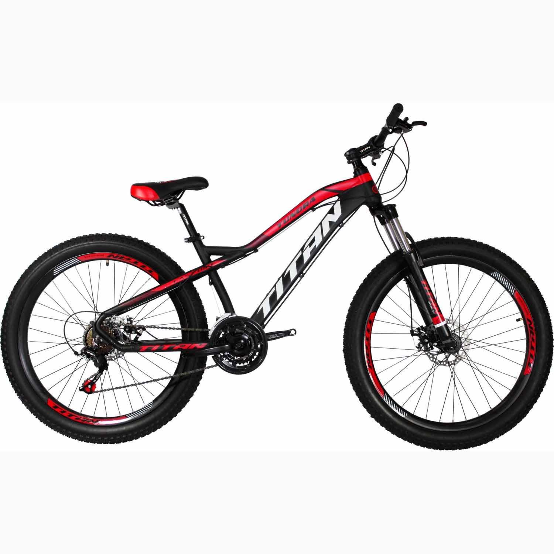 Фото Велосипед Titan Tundra 26 черно-красно-белый