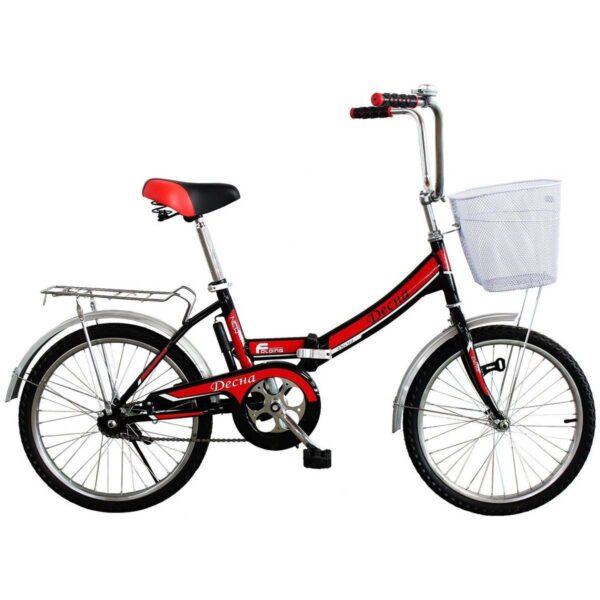 Фото Городской Велосипед Titan Десна 24 черно-красный