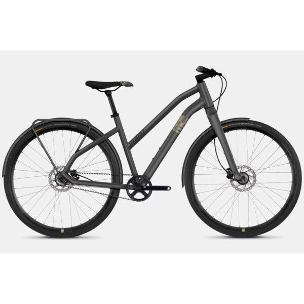 """Фото Велосипед Ghost Square Urban 3.8 28"""" , S, серо-коричнево-черный, 2019"""