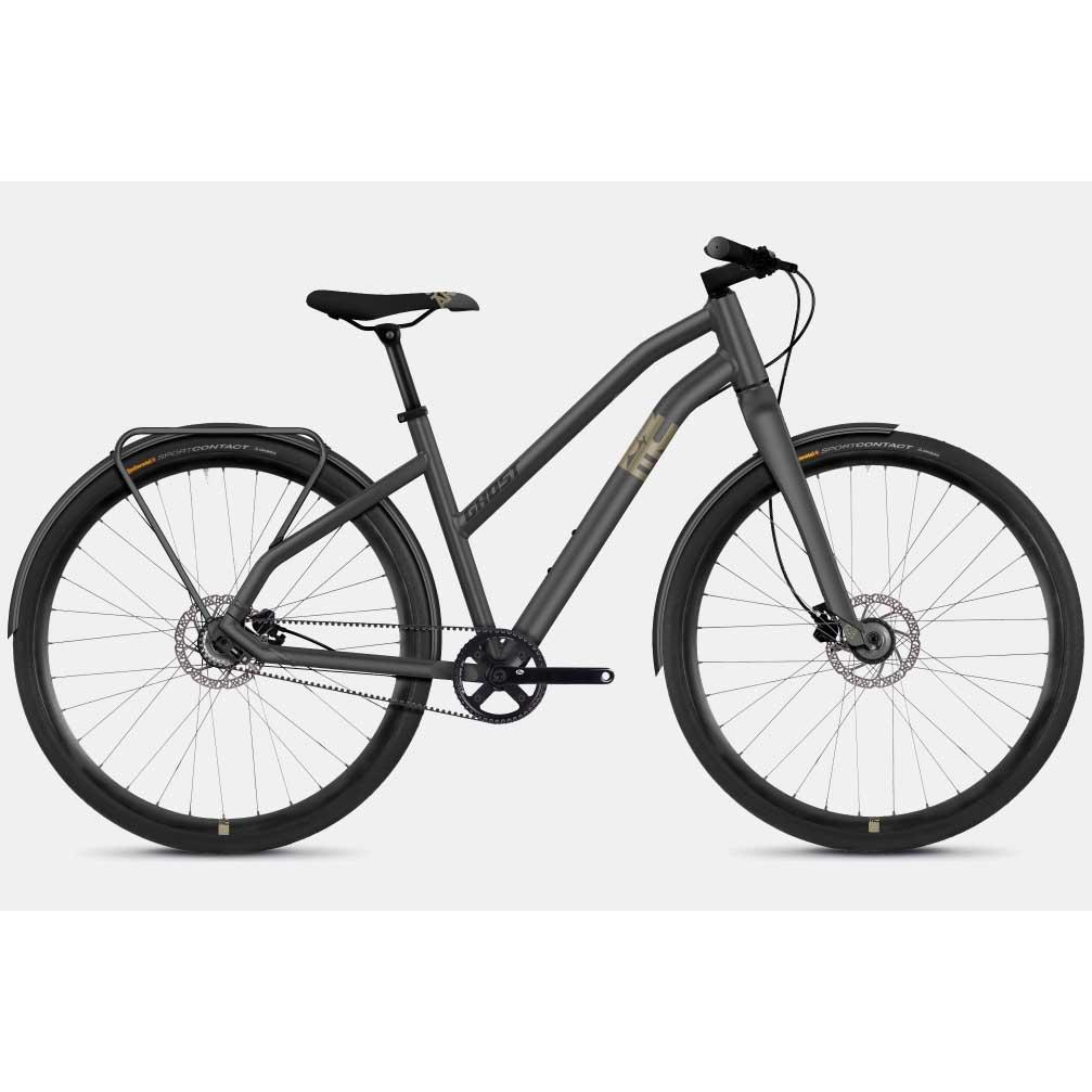 Фото Велосипед Ghost Square Urban 3.8 28″ , S, серо-коричнево-черный, 2019