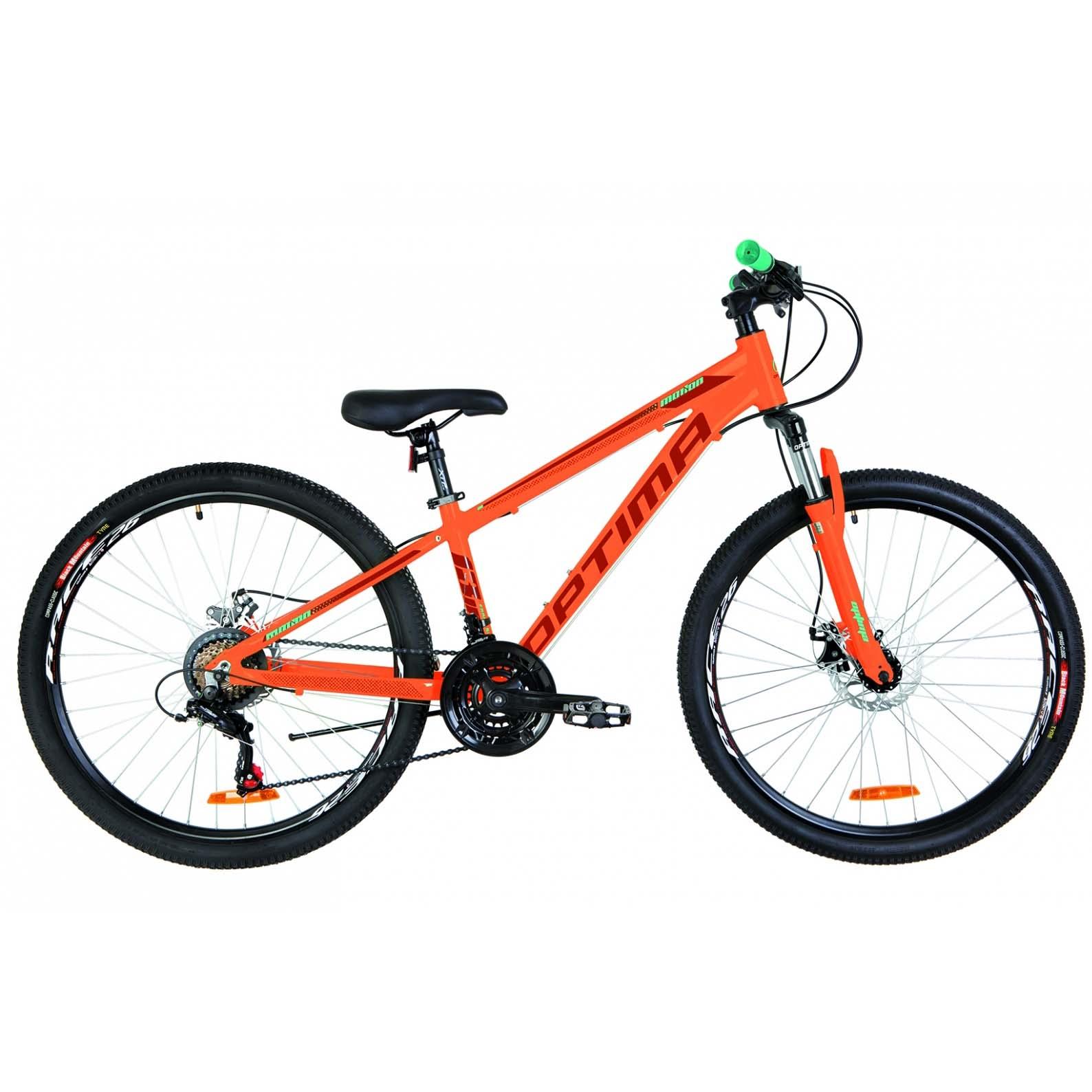 Фото Горный Велосипед 26 Optimabikes MOTION DD оранжевый 2019