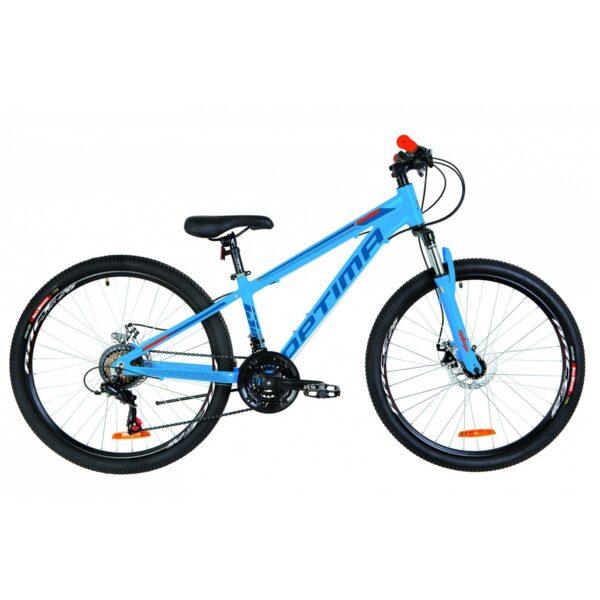 Фото Горный Велосипед 26 Optimabikes MOTION DD сине-оранжевый 2019