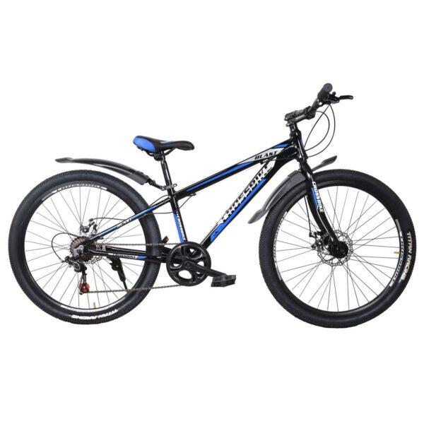 Фото Подростковый Велосипед Cross Blast 26 черно-серо-синий