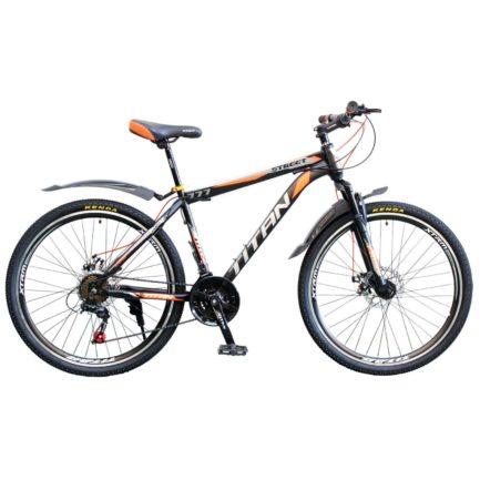 Фото Горный Велосипед Titan Street 26 черно-серо-оранжевый