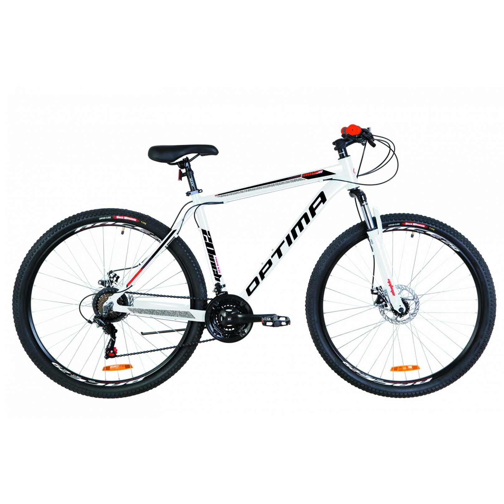 Фото Горный Велосипед 29 Optimabikes MOTION DD бело-красно-черный 2019