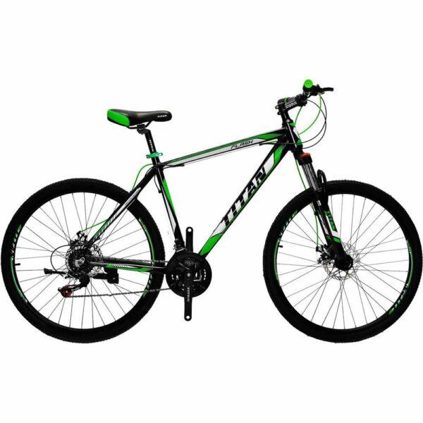 Фото Горный Велосипед Titan Flash 29 черно-зелено-белый