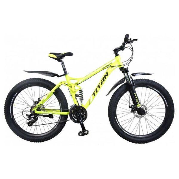 Фото Велосипед Фетбайк Titan Appache 26 зелено-черный