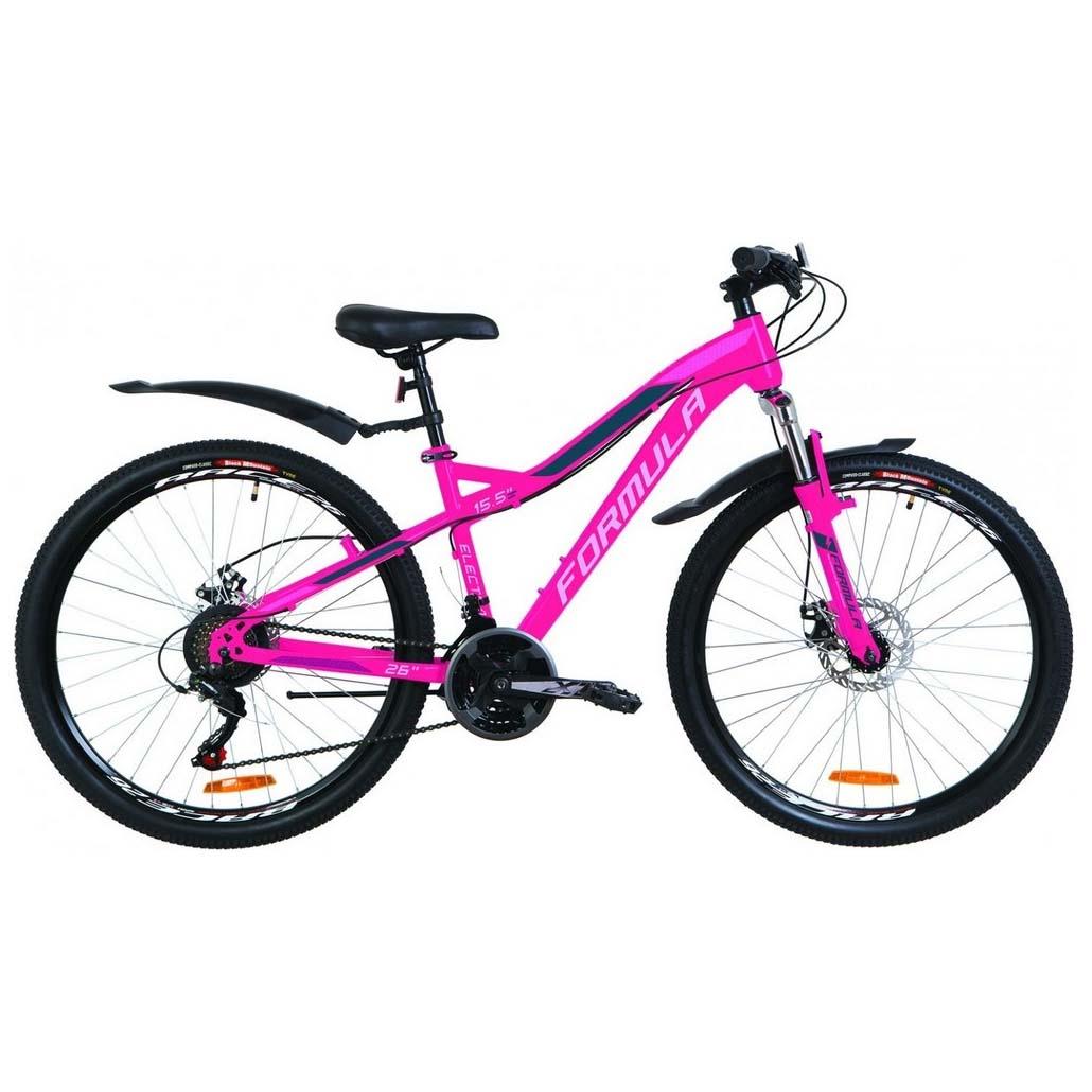 Фото Велосипед 26″ Formula ELECTRA DD розовый  с крылом Pl 2019
