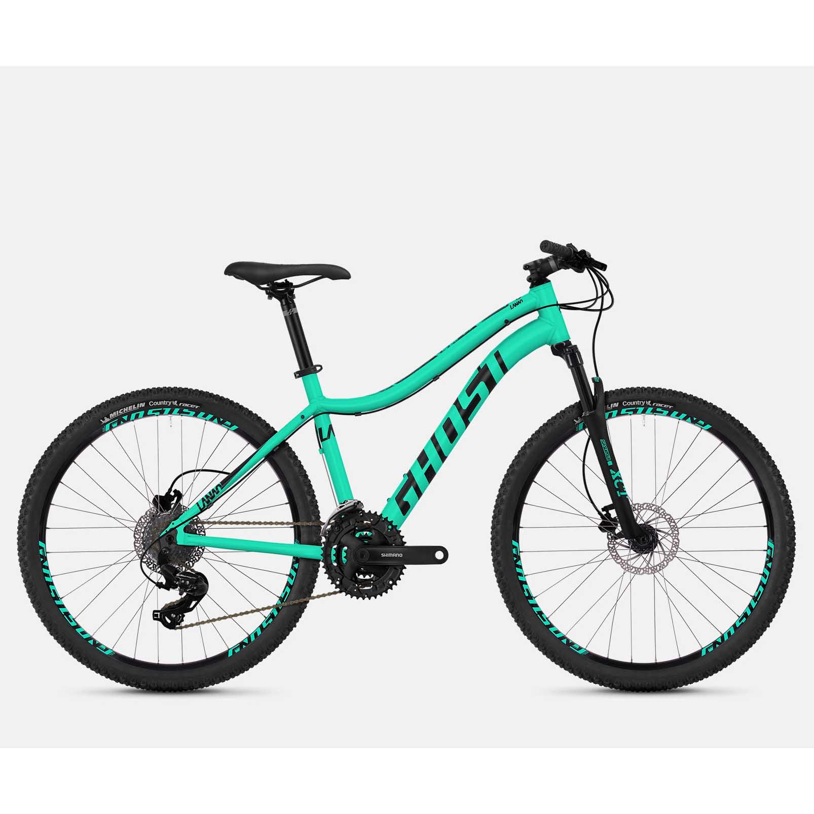 Фото Велосипед Ghost Lanao 1.6 26″ ,рама S, бирюзово-черный,  2019
