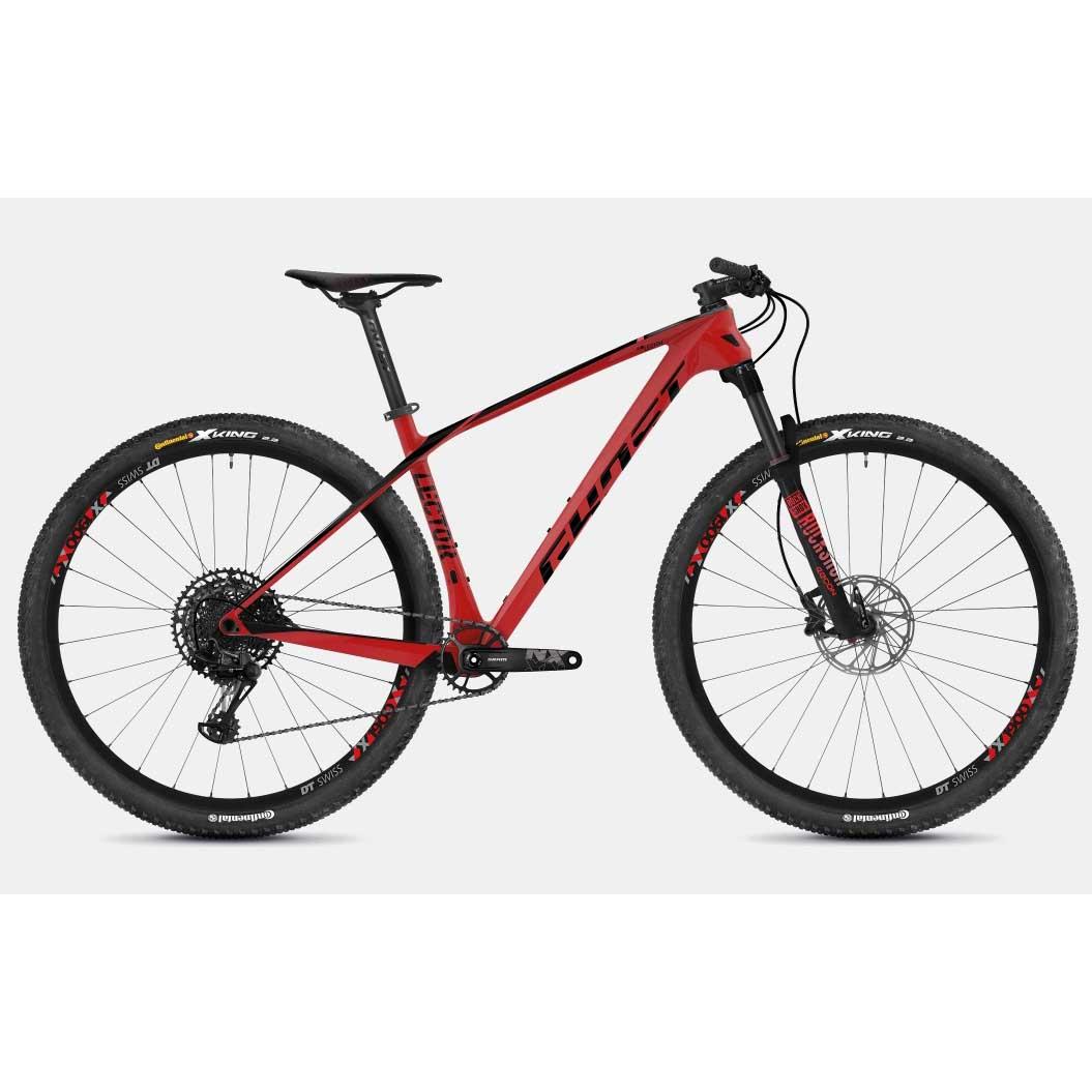 Фото Велосипед Ghost Lector 3.9 29″ , карбон,  рама M,красно-черный, 2019