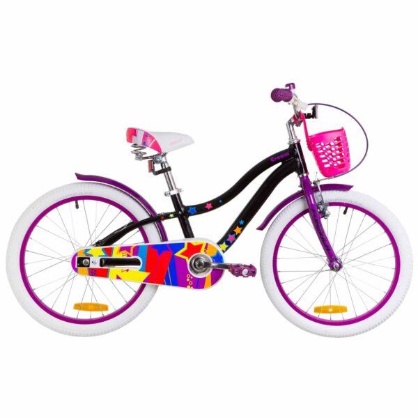 Фото Детский Велосипед 20 Formula CREAM     черно-фиолетовый  2019