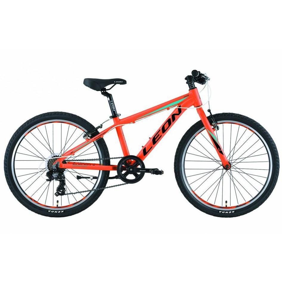 Фото Горный Детский Велосипед 24 Leon JUNIOR regid оранжевый 2019