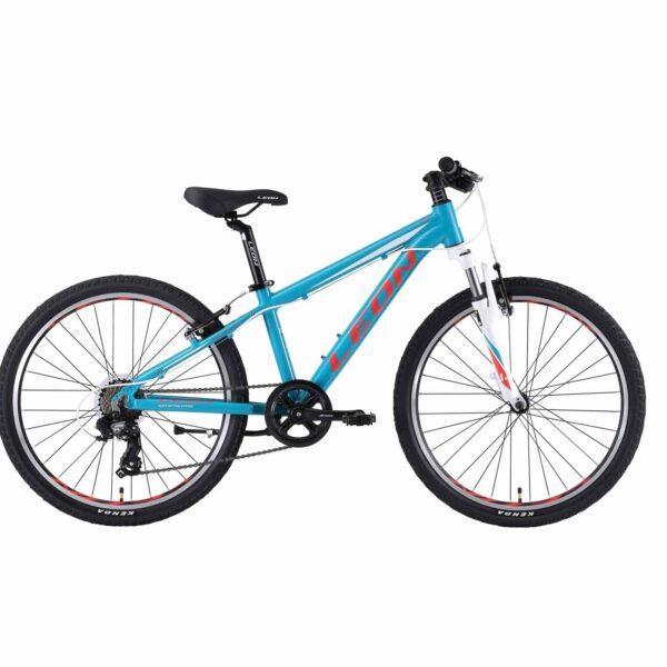 Фото Горный Детский Велосипед 24 Leon JUNIOR бирюзовый   2019