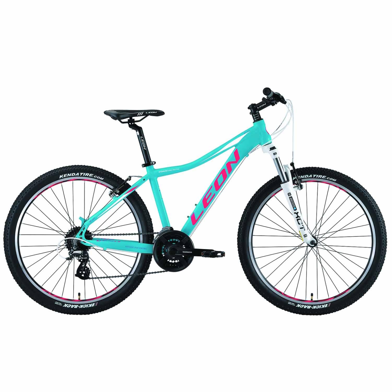 Фото Женский Горный Велосипед 26 Leon HT-LADY рама-18 бирюзовый   2019