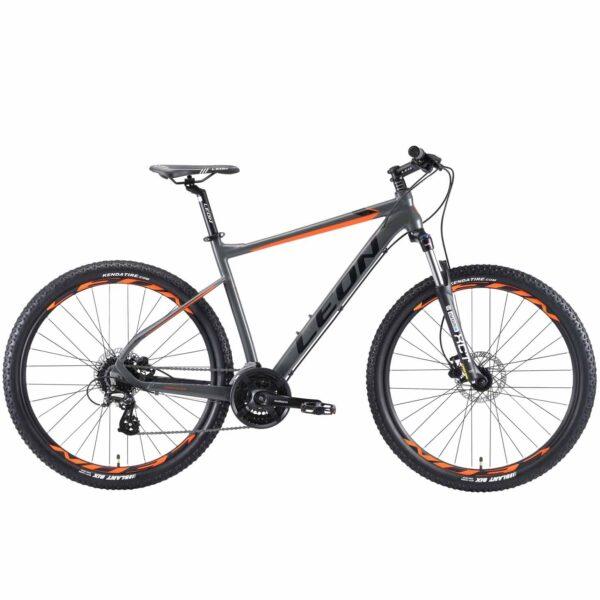 Фото Горный Велосипед 27.5 Leon XC-80 HDD рама-20 серо-оранжевый (м) 2019
