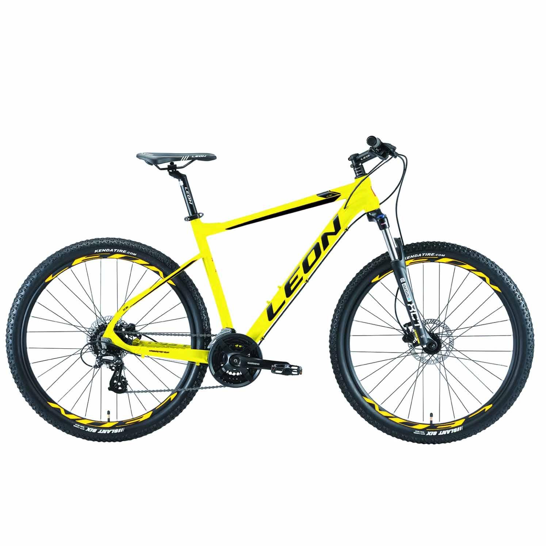 Фото Горный Велосипед 27.5 Leon XC-80 HDD рама-18 желтый 2019