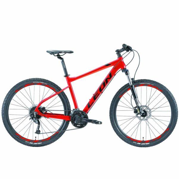 Фото Горный Велосипед 27.5 Leon XC-70 HDD рама-18 красно-оранжевый 2019