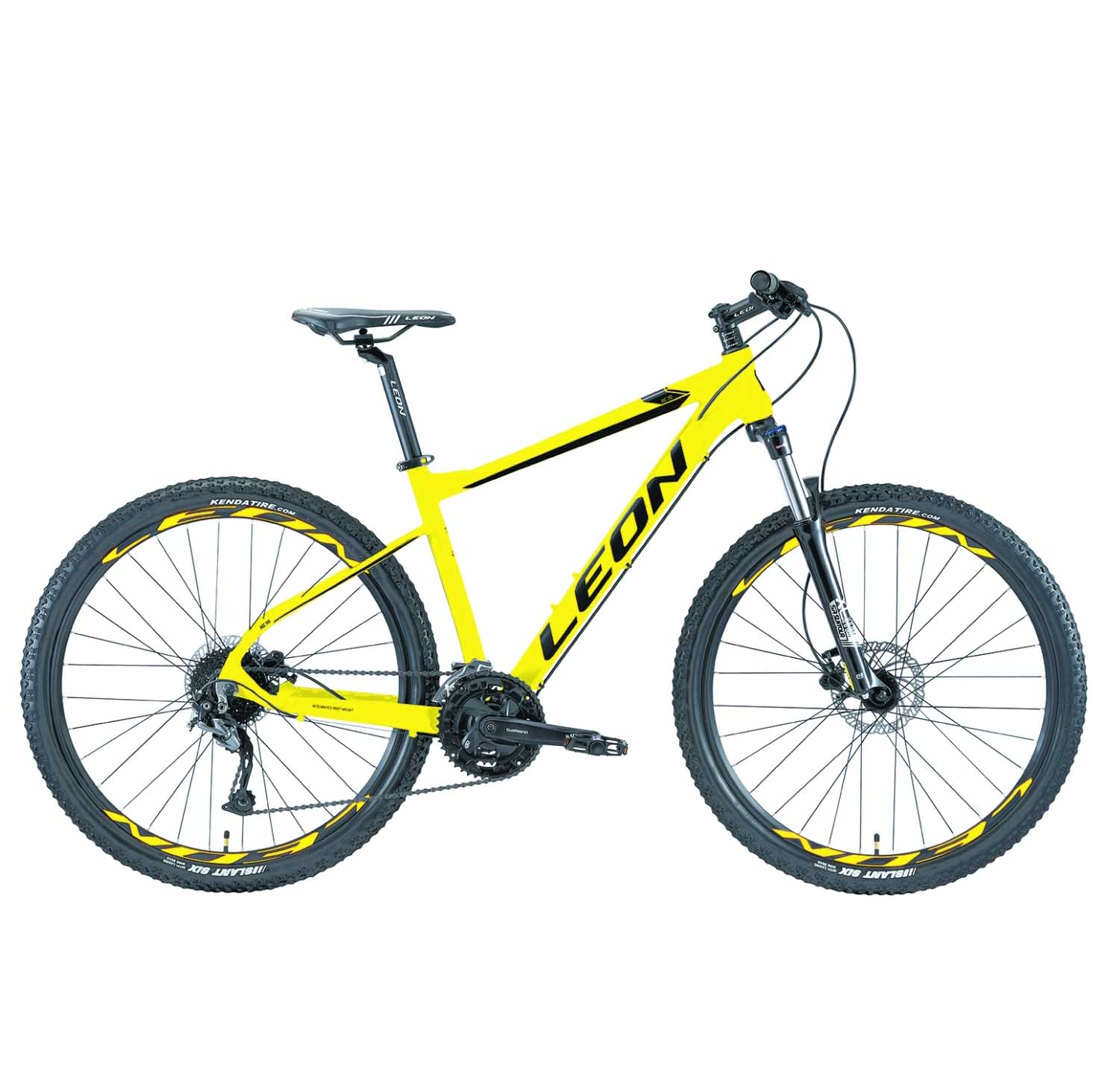 Фото Горный Велосипед 27.5 Leon XC-70 HDD рама-18 желтый 2019