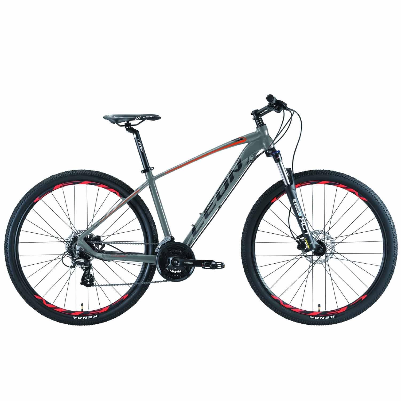 Фото Горный Велосипед 29 Leon TN-80   HDD  рама-17,5  серо-оранжевый 2019