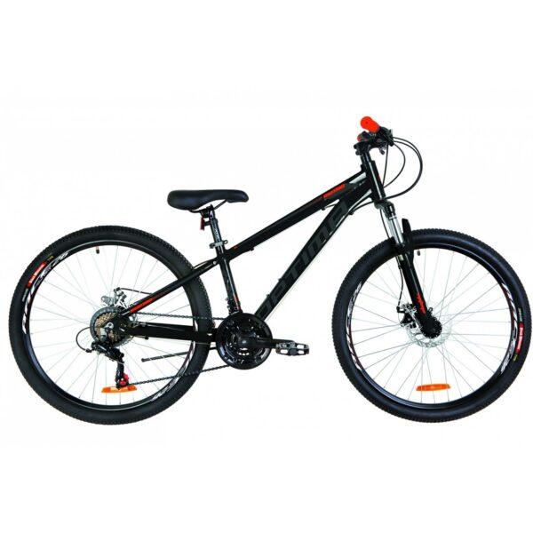 Фото Горный Велосипед 26 Optimabikes MOTION DD черно-оранжевый   2019