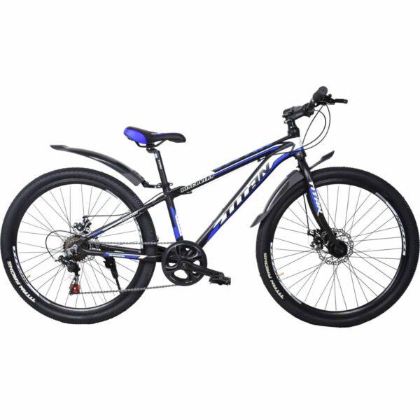 Фото Велосипед Titan Discovery 26 черно-бело-синий  2019